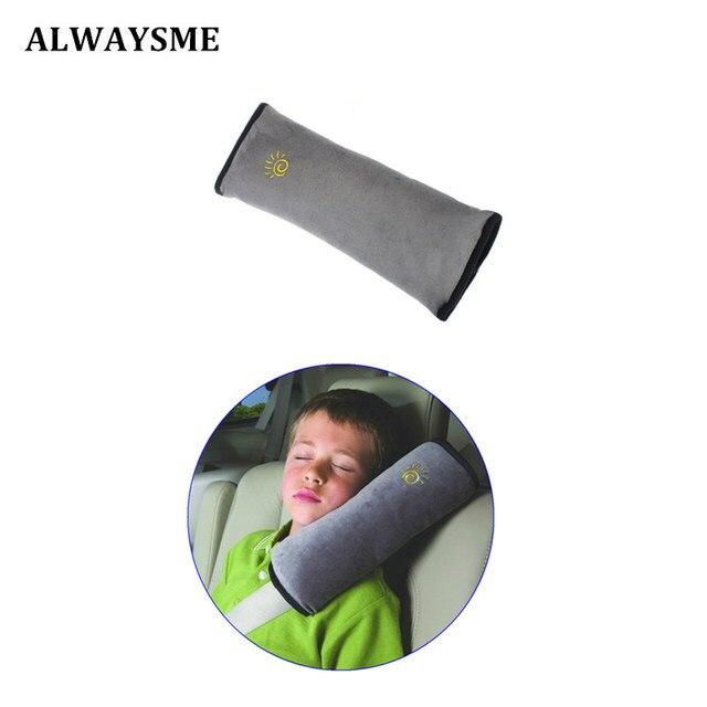 ALWAYSME moda bebé niños correa de seguridad cinturones de seguridad asiento de coche almohada protección de hombro correa de asiento