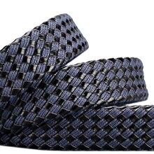 Designer Pin Buckle Leather Belt
