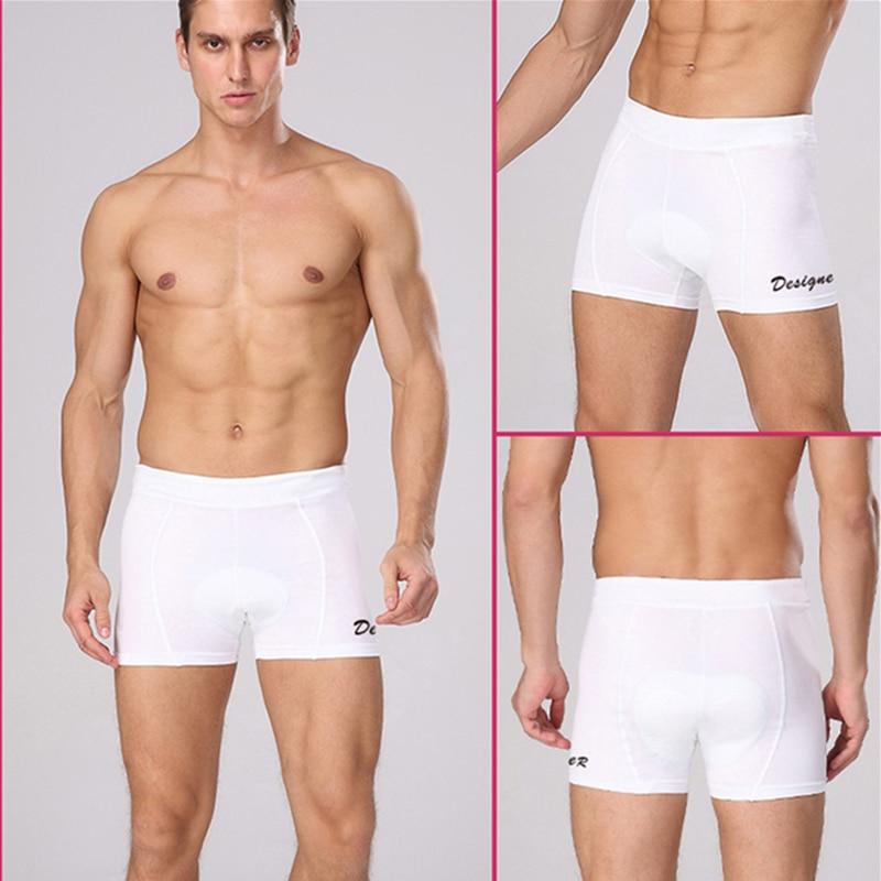 Men Women Cycling Shorts Bicycle Bike Underwear Pants With Gel 3D Padded Surpris