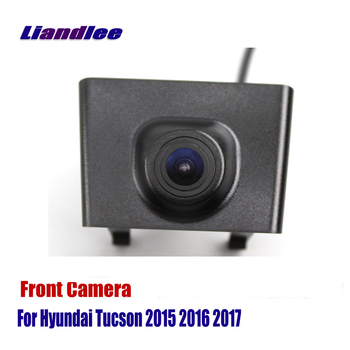 Liandlee Car Front View Camera AUTO CAM For Hyundai Tucson 2015 2016 2017 ( Not Reverse Rear Parking Camera )