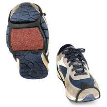 11.11 1 Pair Coarse Sand Winter Anti-slip Ice Snow Shoes Gri