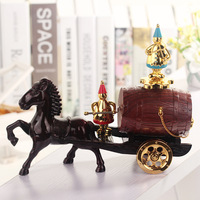 2016 Classical Carriage Cask Music Box Retro Craft Music Box Doll Decoration Free Shipping CR Z2311