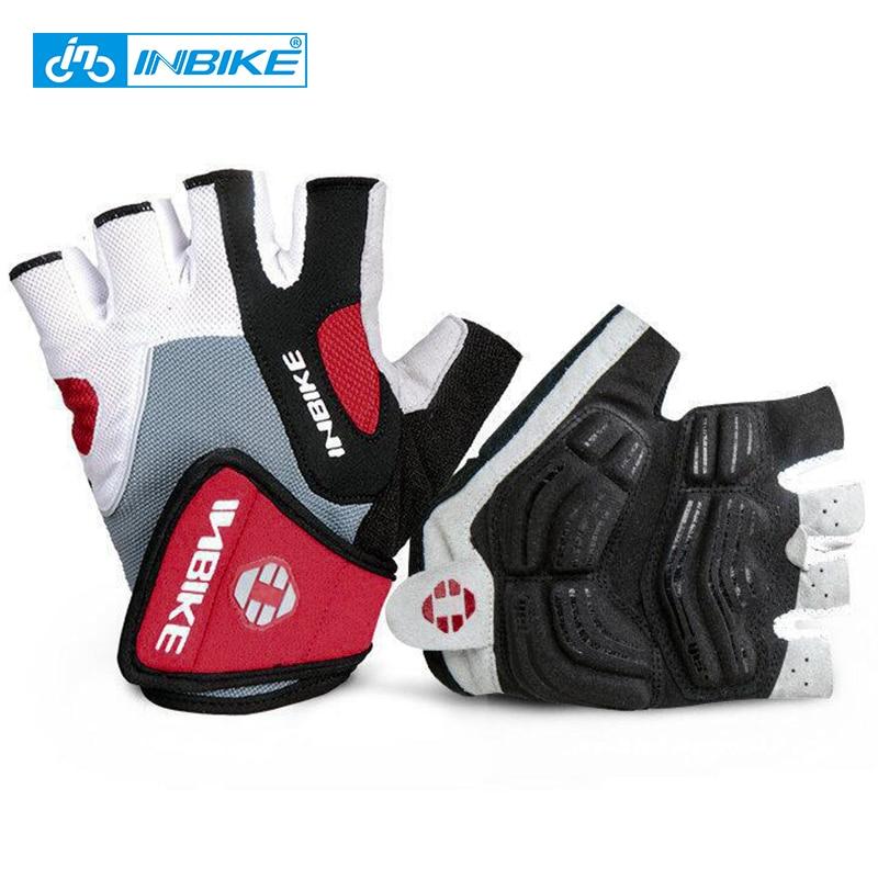 Sports Cycling Gloves Half Finger Bicycle Gel Padded Fingerless MTB Bike Gym H7