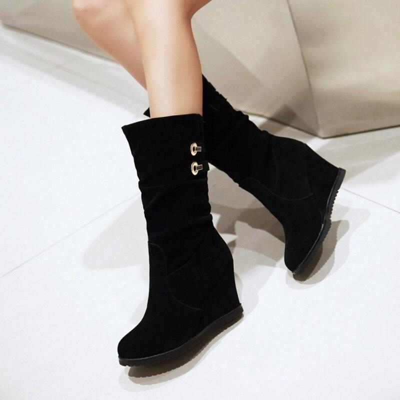 cheap wedge heel boots ha heel