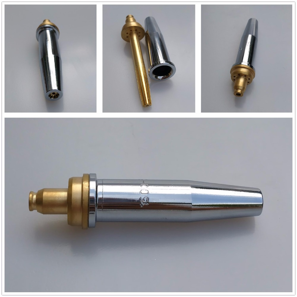 Cutting Nozzle Type 1503 Puroox Tip 0 8mm to 3 2mm for option Oxygen Propane Gas