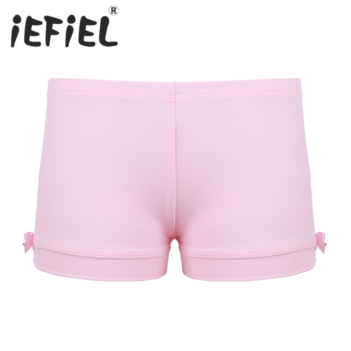 Kids Girls Children Ballet Shorts Elastic Waistband Shorts Bottoms for Sports Gym Workout Gymnastics Leotard Dancing Clothes