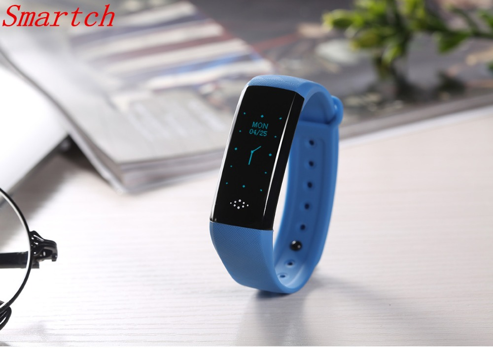 Smartch 0 86 inch M2S Smart Bracelet Bluetooth 4 0 Smart Band Heart Rate Monitor Blood