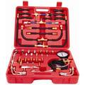 Automotive Fuel Injector Pressure Diagnostic Tester Gauge Kit Set 0-140PSI AT2100