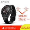 Originele Ticwatch Pro Sport Smart Horloge Bluetooth WIFI NFC Betalingen/Google Assistent Android Wear Smartwatch GPS IP68 Waterdicht