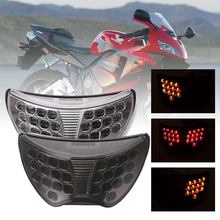 SPEEDPARK Motorcycle Rear taillight Tail Brake Turn Signals Integrated Led Light Lamp For Honda CBR 600 CBR600 F4 1999 2000 99 цена 2017