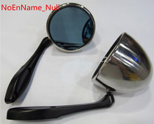 Free shipping in stock Racing Side Mirror Universal GP F1 Style Mirrors Kit per Pair W/ Blue Lens one