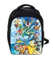 13 Inch Pokemon Kindergarten Backpack Haunter Children School Bags Boys Girls School Backpacks Schoolbags Kids Bag