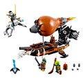 Brinquedos para crianças DA MARCA CHINA 06029 auto-travamento bricks Compatíveis com Lego Ninjago Ninjago Ataque Zeppelin 70603 nenhum original caixa