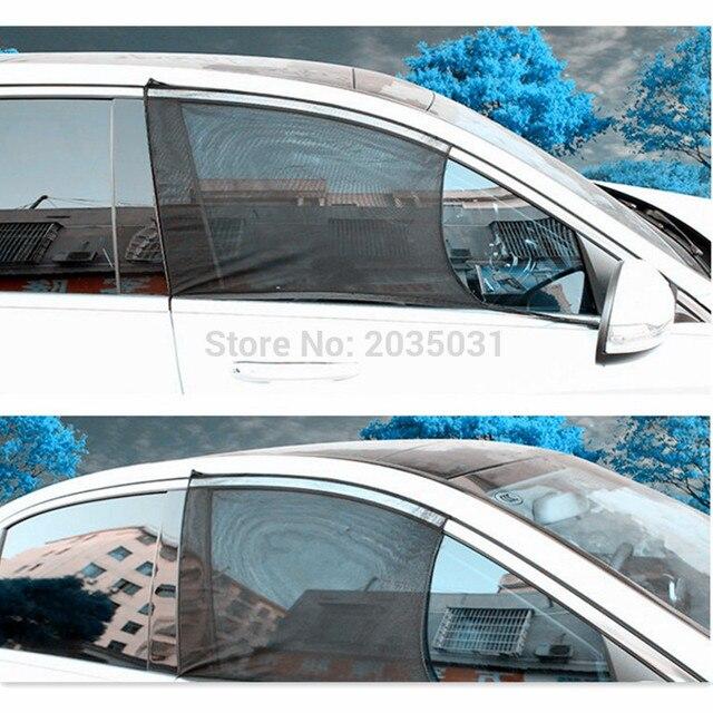 2pcs Set Car Side Window Sunshade Curtains For Volvo V70 Cruze 2010 W220 Xc60 Volkswagen Touran Vauxhall Antara Subaru Sti