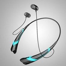 Bluetooth 4.0 HBS760 Auricular Inalámbrico Banda Para El Cuello Estéreo Hifi Manos Libres Sweatproof Deportes Auricular Auriculares Para Call Music