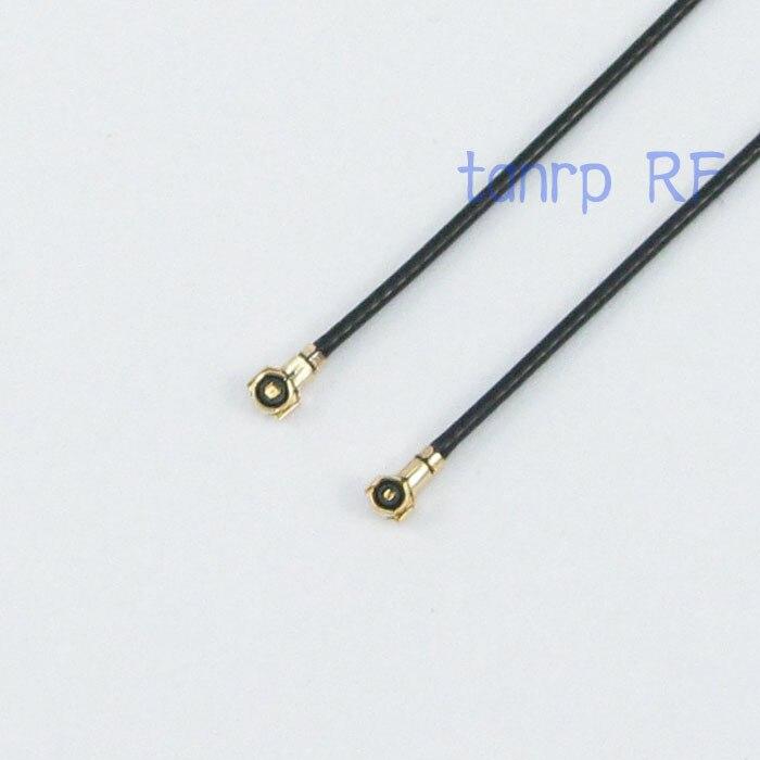 Neu RP-SMA Female Bulkhead Plug to IPX U.fl Female 1.13 Cable Kabel 6inch 15CM