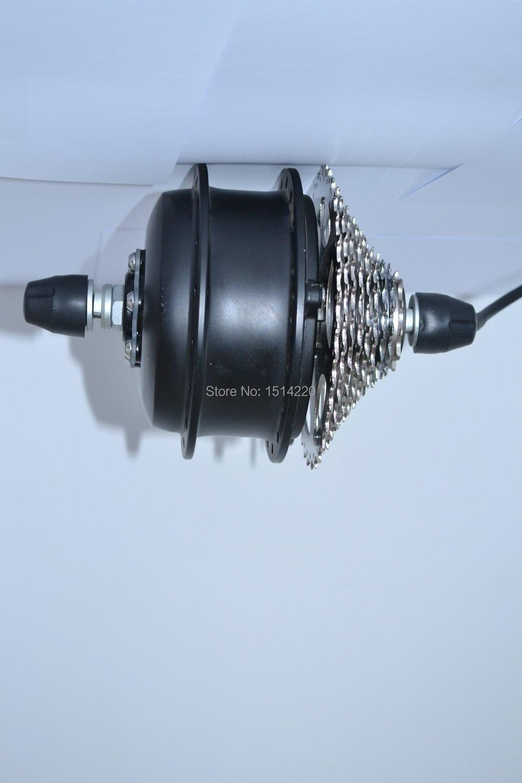 2 2kg Silent 48v 350w Brushless Gear Hub Rear Motor With