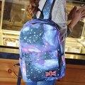 Aresland das Mulheres Da Estrela Da Bandeira Galaxy Canvas Mochila Escolar Faculdade Mochila Laptop Bags