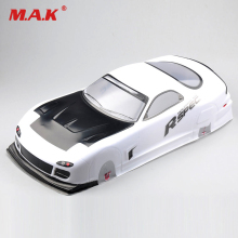 купить 190mm Tamiya Body Shell RX-7 EP 016# For 1/10 RC On Road Drift Car w/Ring 1/10 car body shell дешево
