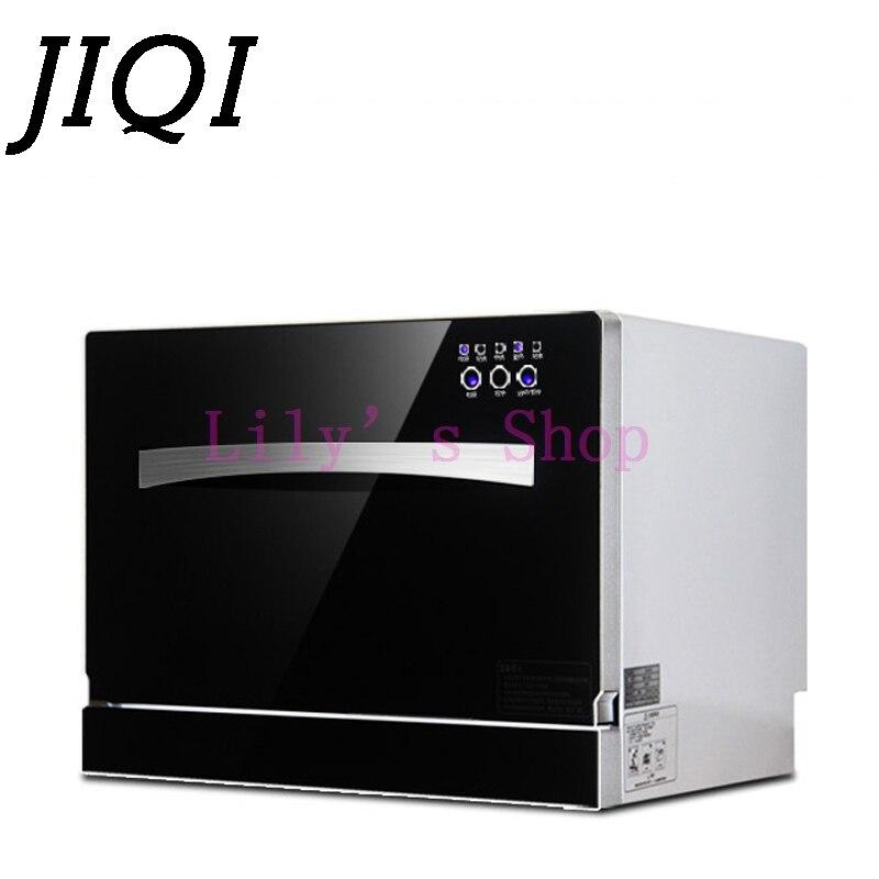 JIQI Desktop Dish Washer Washing Machine For Commercial Kitchen 2500w Automatic Dishwashing Disinfect High-temperature Sterilize