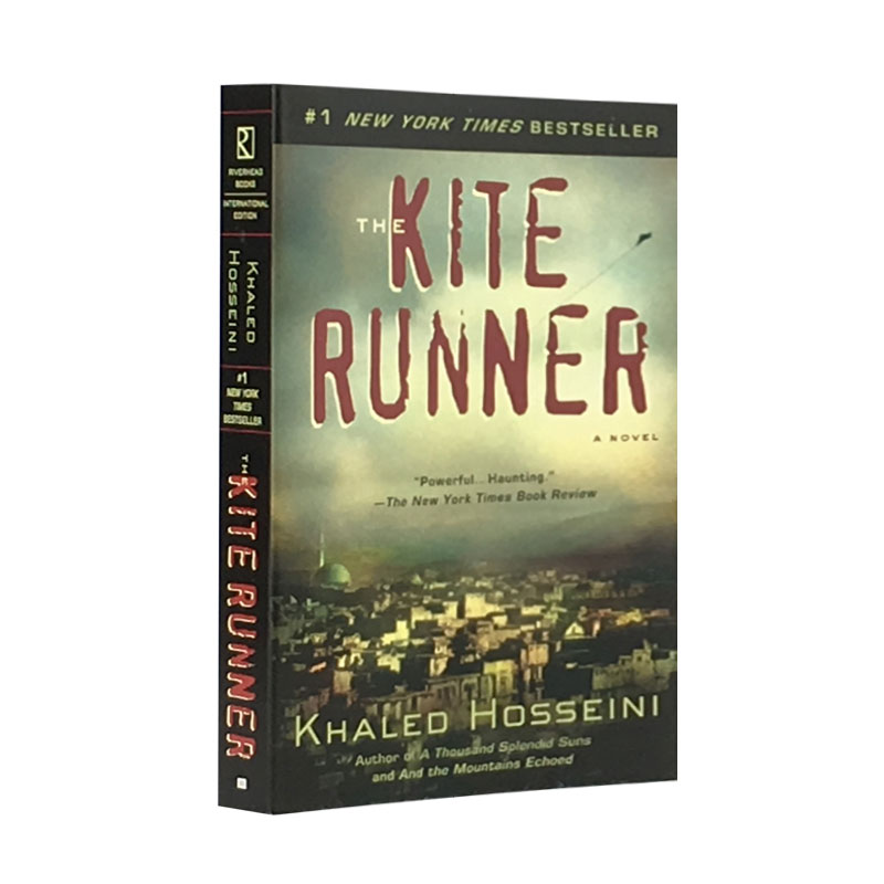 The Kite Runner English Version New Hot Selling Fiction Book For Adult Libros