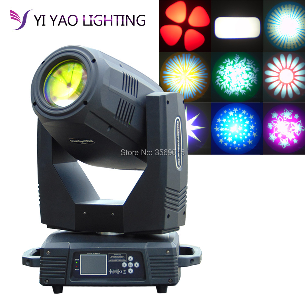 350W LED Lyre Moving Head Light Beam Spot Wash 3in1 Party DJ stage light night