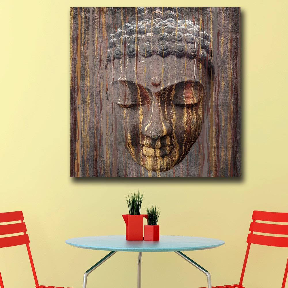 Mklql Pop Art Oil Painting Buddha Painting For Home Decor On Canvas ...