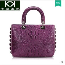 kadiler The new during the spring and autumn 2016 Thai crocodile women handbag luxury handbags single single shoulder bag