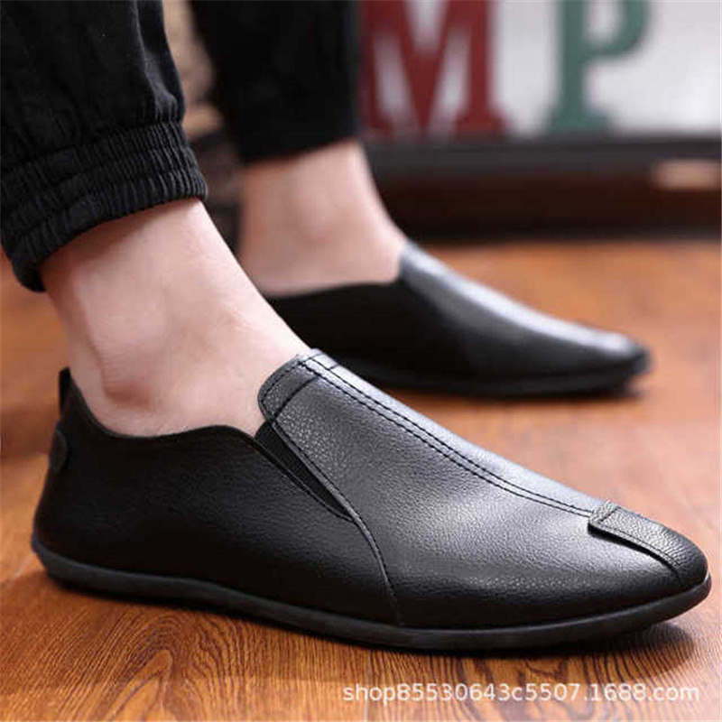 Loafers Zip Man Shoes Men Loafers PU Leather Loafers Breathable Casual Mens Shoes Spring Autumn Driving Shoe Men Moccasins 2019