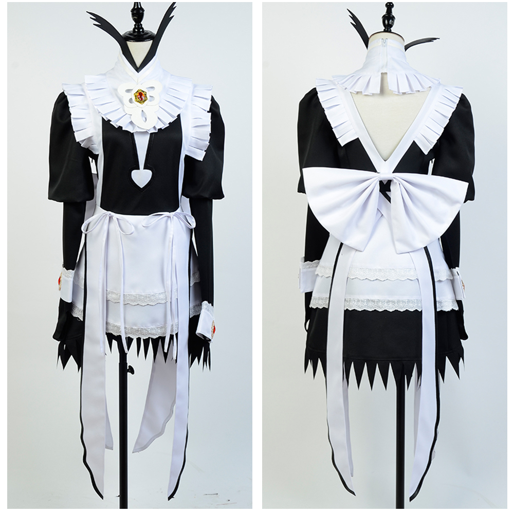 Fire Emblem If Fates Flora Maid Fancy Dress Sexy Costume Custom Made Free Shipping Full Sets