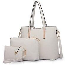 FRÄULEIN LULU frauen Handtaschen drei stück tote umhängetasche und handtaschen 3 stücke umhängetasche, abnehmbare tasche, kupplung