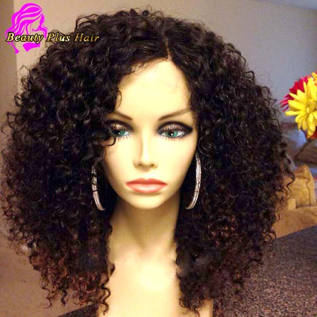65301fd55 7A Full Lace Human Hair Wigs For Black Women Brazilian Virgin Human Hair  Lace Front Wigs Afro Kinky Curly Glueless Full Lace Wig