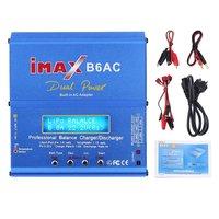 Professional iMAX B6AC Dual Power Multifunctional Lipo NiMH RC Battery Balance Charger Discharger + EU Plug