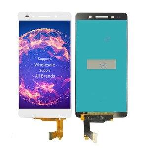 """Image 4 - 5.2 """"LCD için çerçeve ile Huawei onur 7 Honor7 PLK TL01H PLK L01 PLK L01 lcd ekran ekran dokunmatik sensör sayısallaştırıcı tam meclisi"""