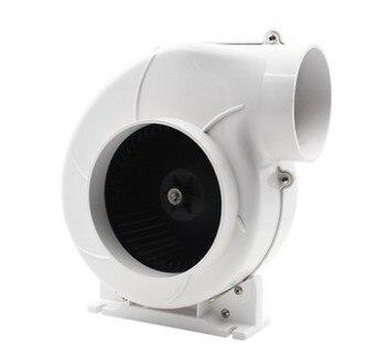 """4"""" snail fan Marine Boat Yacht RV Caravan fan 12V 24V DC inline air blower,  boat bilge ventilation fan"""