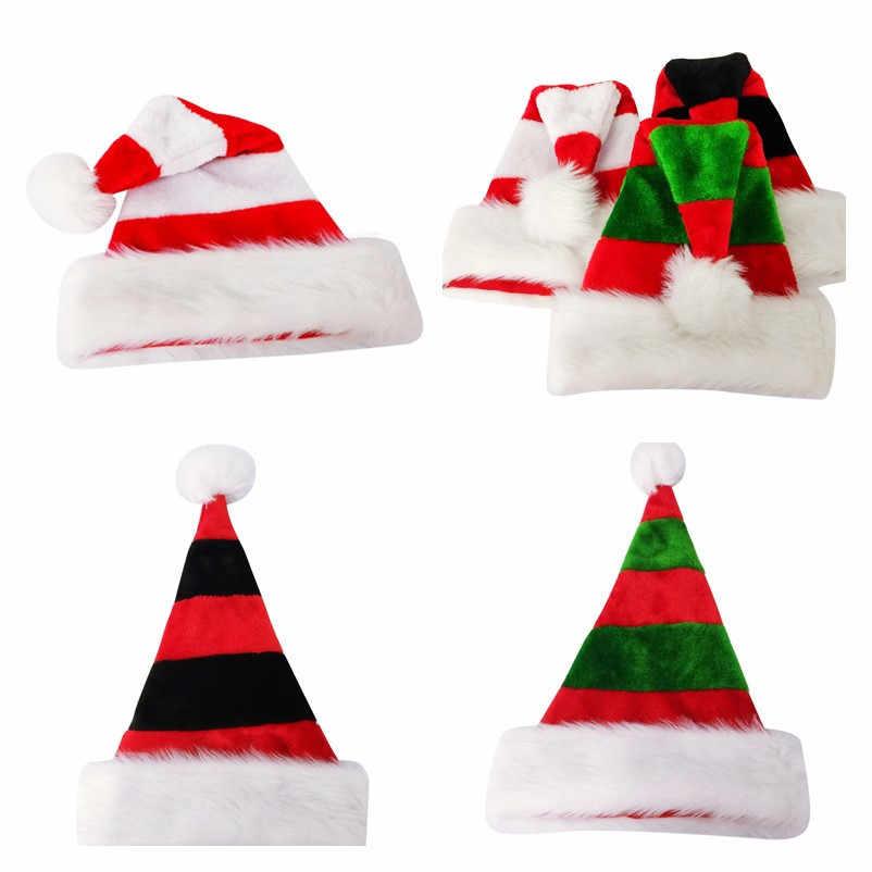 Высокая конец двойной плюшевые Рождество шляпа с на подкладке изнутри KTV паб