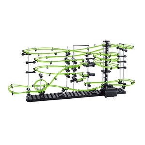 Image 3 - Space Coaster Spacerails Glow in the Dark 13500mm Rail Level 3 Game 2333G