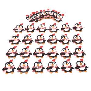 Image 5 - Bộ 50 Ông Già Noel Chim Cánh Cụt Lollipop Nơ Giáng Sinh Lolly Đường ổ bánh Quà Giáng Trang Trí Tiệc Quà Tặng Cho Gia Đình 2018 Trang Trí