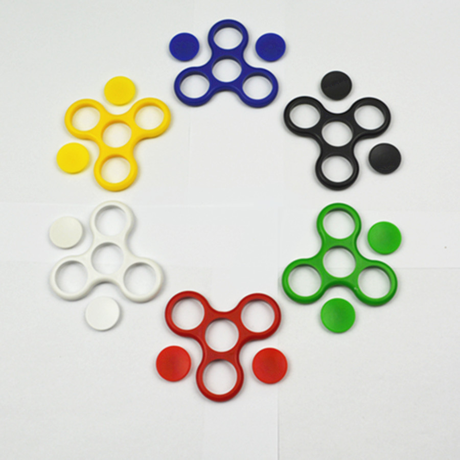 Colorful Plastic Frame for Hand SpinnerTri-Spinner Fidget EDC Fidget Spinner For Rotation Time Long Anti Stress Keep Hands Busy 1pc wobbler fishing lures sea trolling minnow artificial bait carp 9cm 9 1g peche crankbait pesca fishing tackle zb207