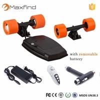 Maxfind Электрический скейтборд Привод комплекты с Двойной Концентратор двигатели четыре колеса Samsung батареи