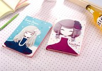 For Apple IPad Pro 9 7inch Tablet Premium Slim Cartoon Cute Lovely Girl PU Leather Stand