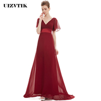 2019 White Chiffon Women Summer Dress Elegant Sexy V Neck Bridesmaid Long Party Dress Casual Plus Size Ball Gown Maxi Dresses