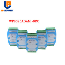 8-канальный реле SPST выход изолированный модуль 8RY RS485 MODBUS RTU WP8025ADAM