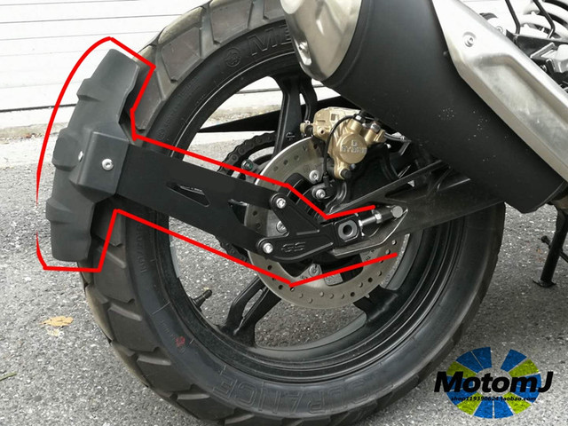 Para BMW G310GS G310 GS R G310R 2017 2018 accesorios de la motocicleta guardabarros trasero guardabarros de rueda Hugger Splash Guard