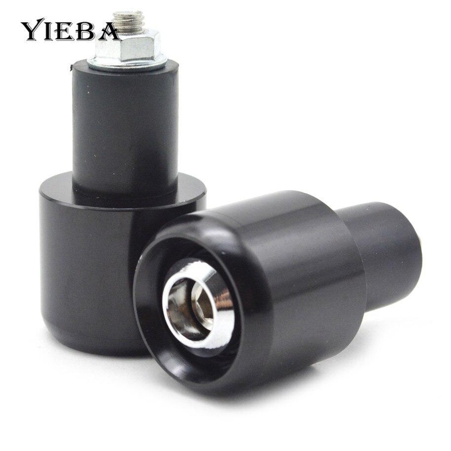 For BMW R1200R R1200RT R1200S R1200ST S1000RRMotorcycle Handlebar End Handlebar Grips Cap Ends Anti Vibration Silder Plug