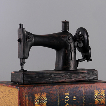 American Retro do old Creative Sewing Machine Model furnishing articles Photo Props Home Decoration