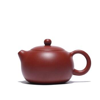 tea pot handmade marked authentic yixing zisha dahongpao xishi pot 180ml Chinese kungfu pot of tea on sales original ore clay
