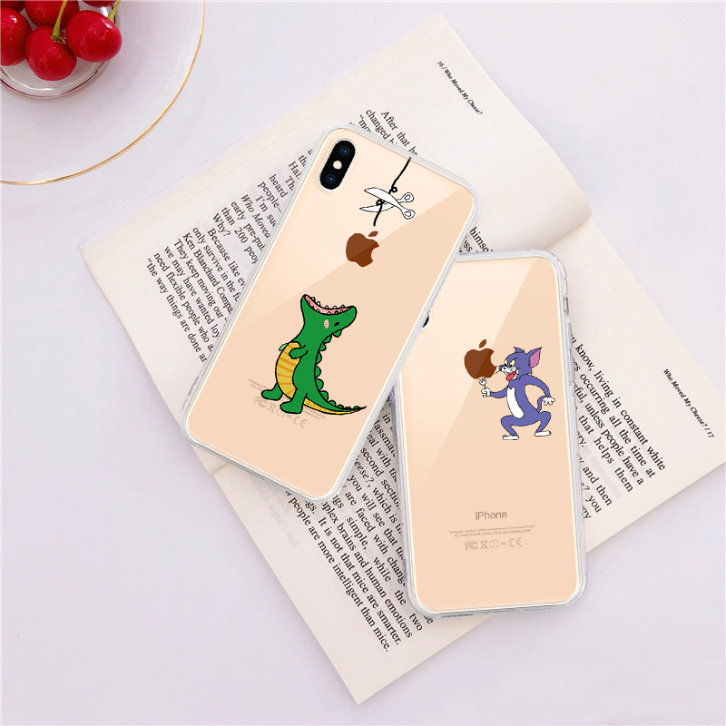 Soft Silicone TPU Cool Pattern Phone Shell For iPhone Models 9