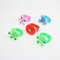 Hot Sale Green Blue Pink Red Fidget Spinner Light Up Watch Stress Relief Fidget Toys Supplies Favors LED toys YH1821