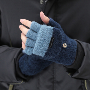Man Cotton Wool Knitted Gloves